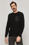 Sweter męski Comfort Up czarny