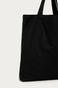 Torba bawełniana z napisem CHAOS czarna