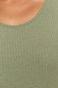 T-shirt damski w prążki zielony