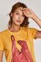 T-shirt damski by Dorota Masłowska i Maciej Chorąży żółty