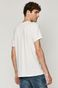 Bawełniany t-shirt męski z nadrukiem Superman biały