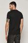 T-shirt męski z bawełny organicznej X-mass by Dawid Ryski szary