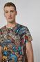 T-shirt męski z bawełny organicznej Barong Mask