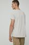 T-shirt męski z bawełny organicznej by Kinga Czaplicka Grafika Polska szary