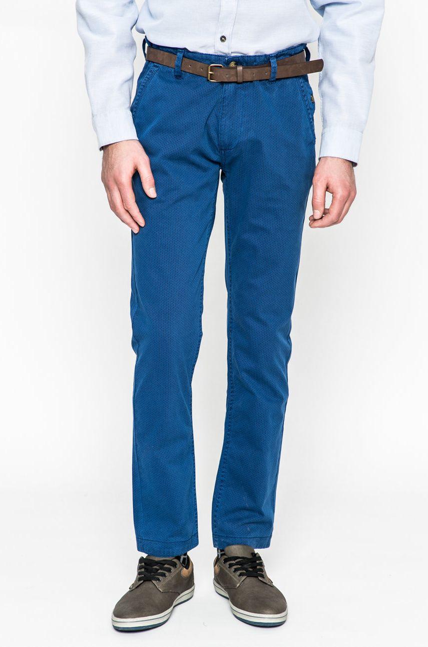 Spodnie męskie Basic niebieskie