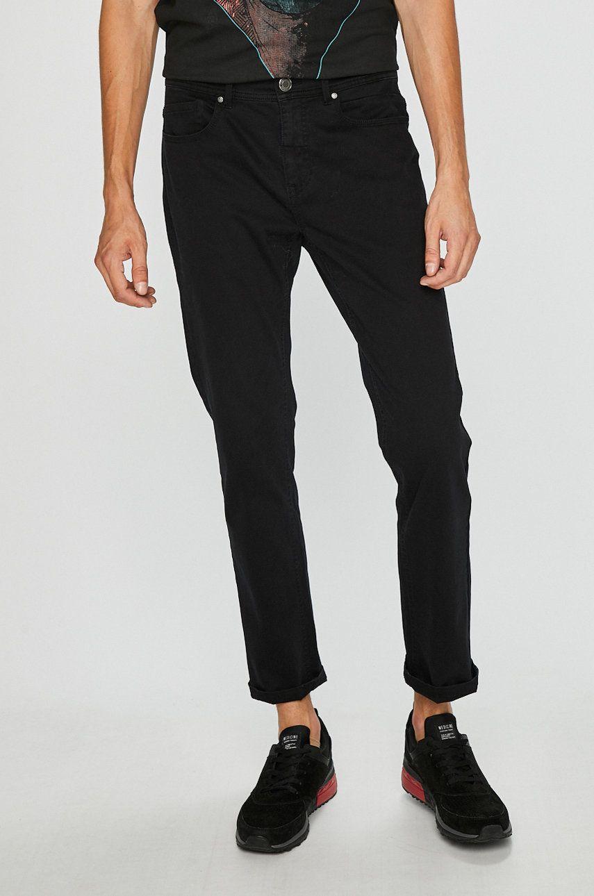 3383d9c9ef091 Spodnie męskie regular czarne gładkie | WEAR MEDICINE 2019